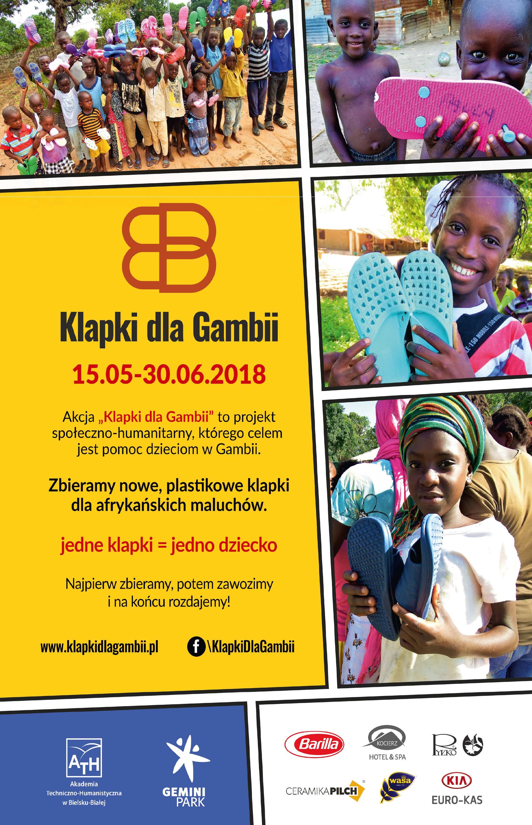 Znalezione obrazy dla zapytania klapki dla gambii